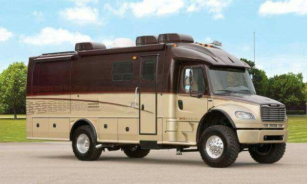 International 4 4 Rv Expedition Truck Super C Rv Recreational
