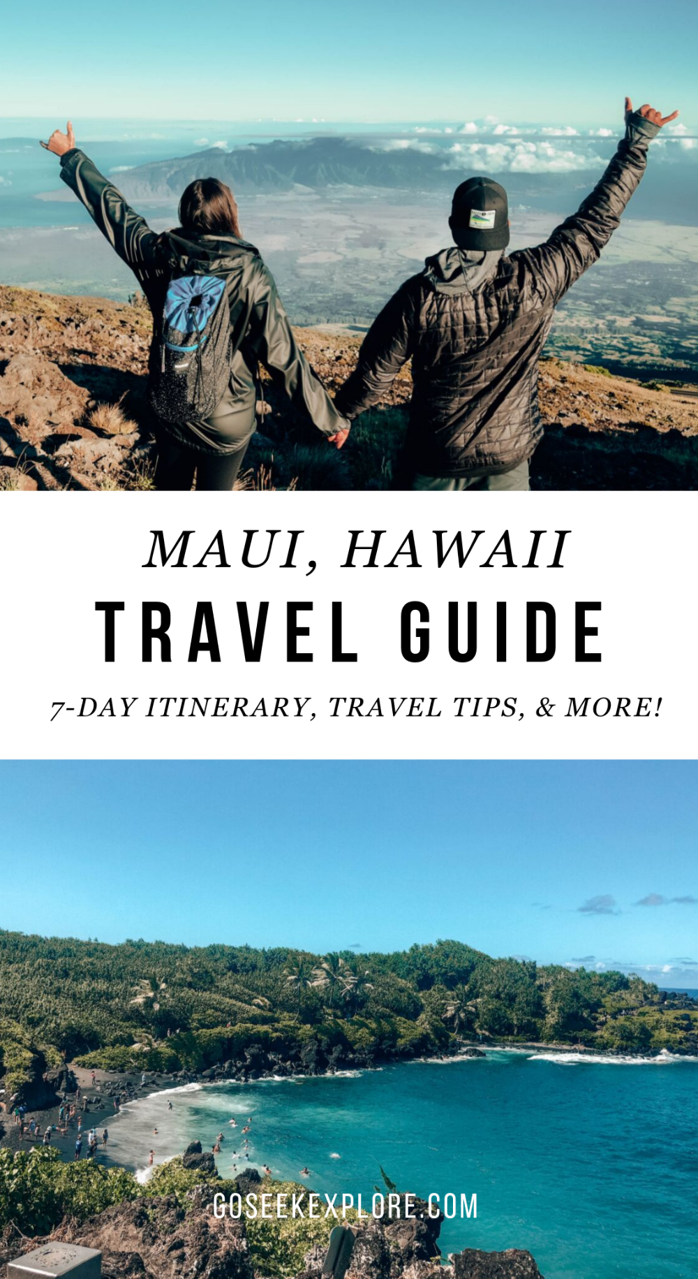 What To Do in Maui, Hawaii For One Week: Full Itinerary And Travel Tips — Go Seek Explore