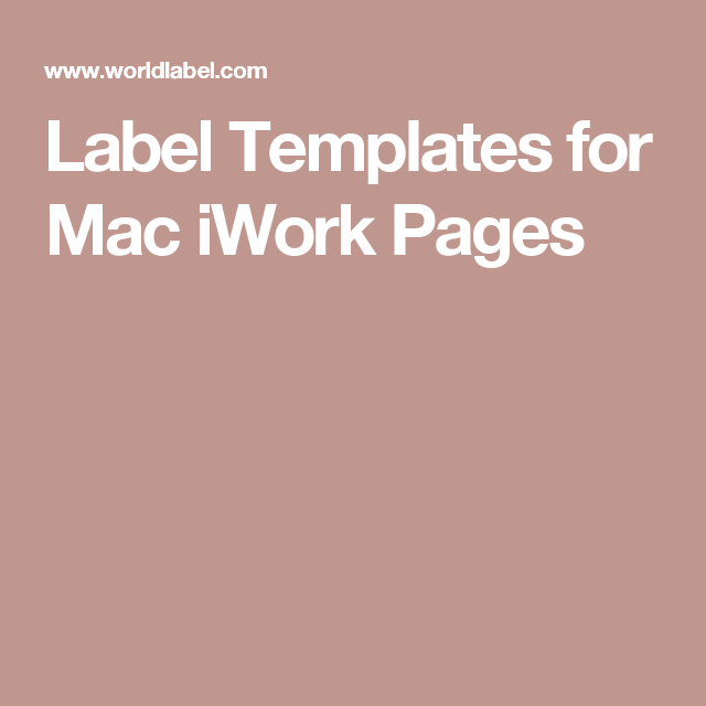 Label templates for mac iwork pages apple pinterest label label templates for mac iwork pages maxwellsz