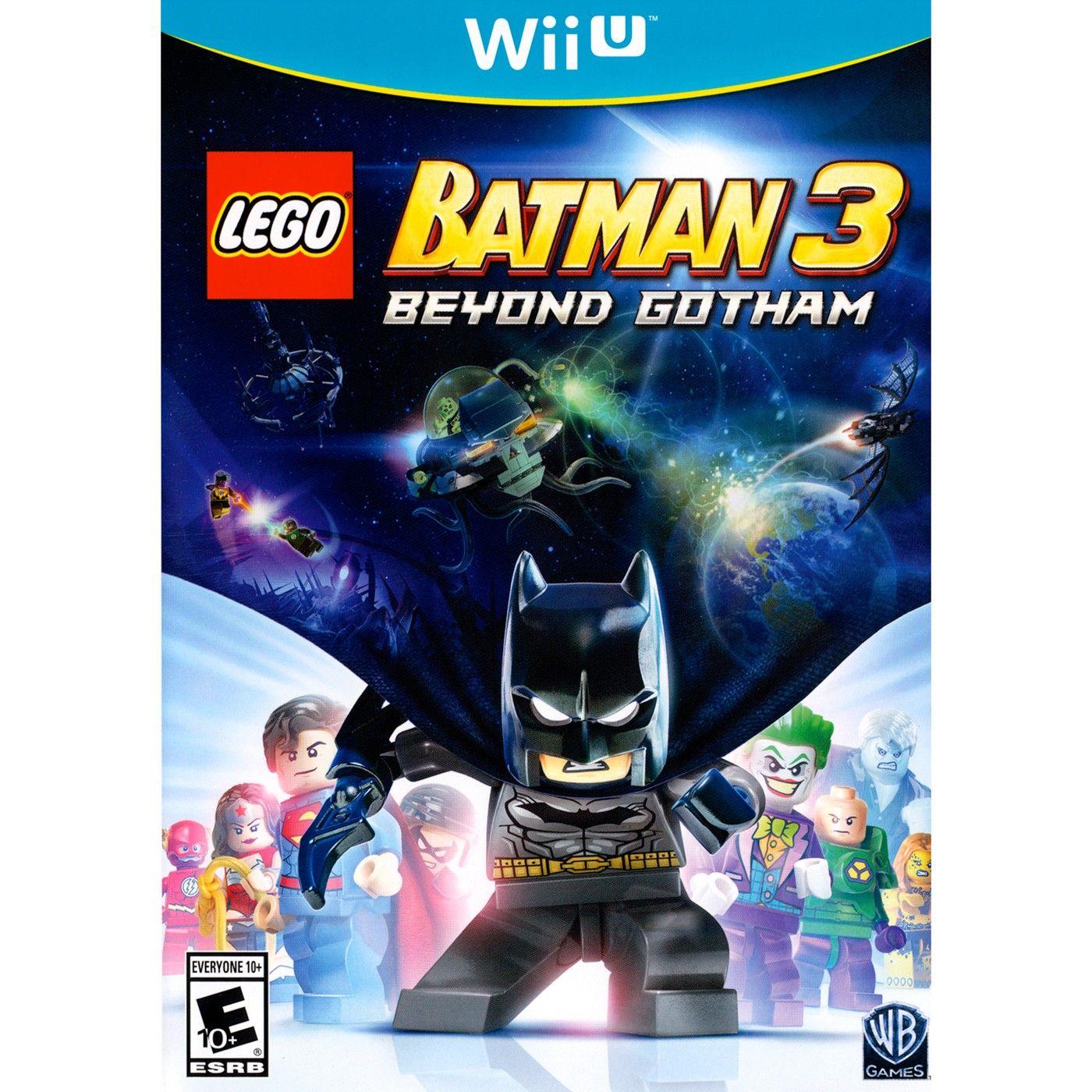 Lego Batman 3 Beyond Gotham Pre Owned Nintendo Wii U Gotham