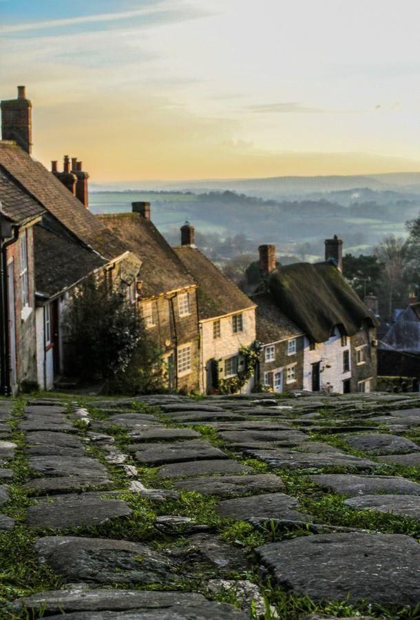 Gold Hill, Shaftesbury, England