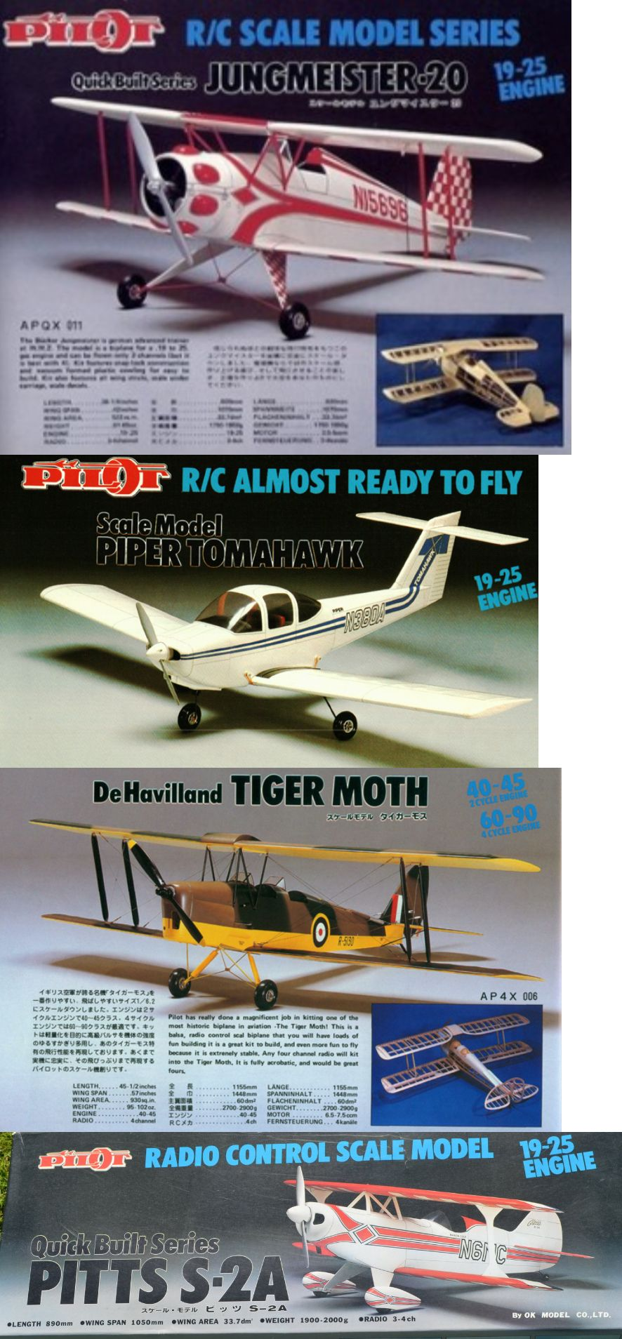 RC Plans Templates and Manuals 182212: Pilot Kit Plans On Cd