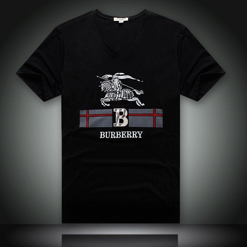6395bb81cdf8 Burberry Men Mercerized cotton T-Shirt 2014-2015 BTS079(4 colors ...