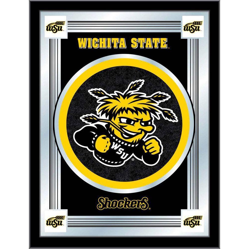 Wichita State Shockers Logo Wall Mirror Wichita state