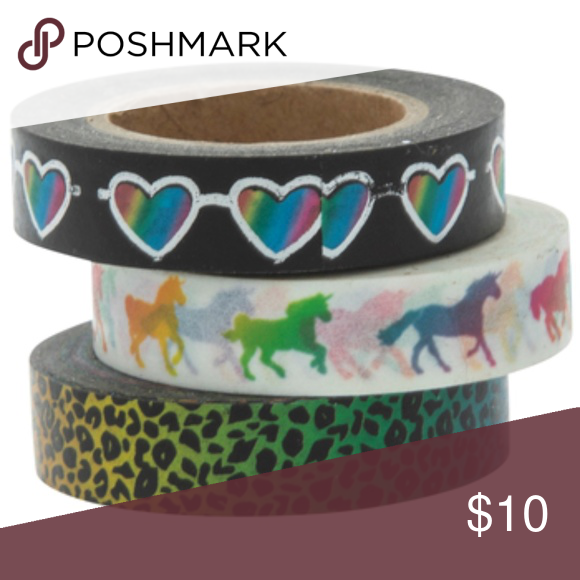 Rainbow Leopard Washi Tape