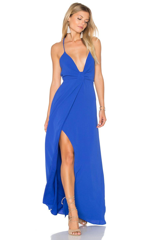 SAYLOR Misty x REVOLVE Dress in Cobalt | REVOLVE | A Girl Can Dream ...