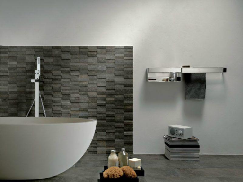 Der neue Trend: 41 Ideen für Wandpaneele mit Steinoptik ...