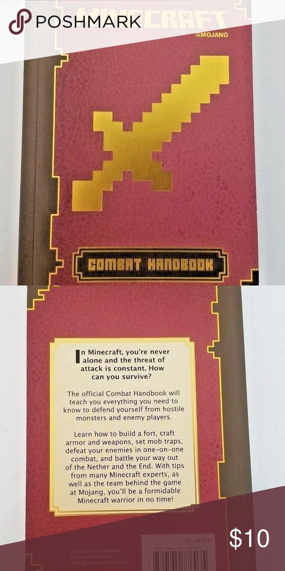 Minecraft: Combat Handbook An Official Mojang Book Minecraft