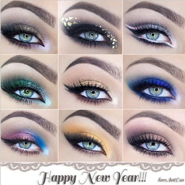 Happy New Year With A Different Eye Makeup Styles Younique