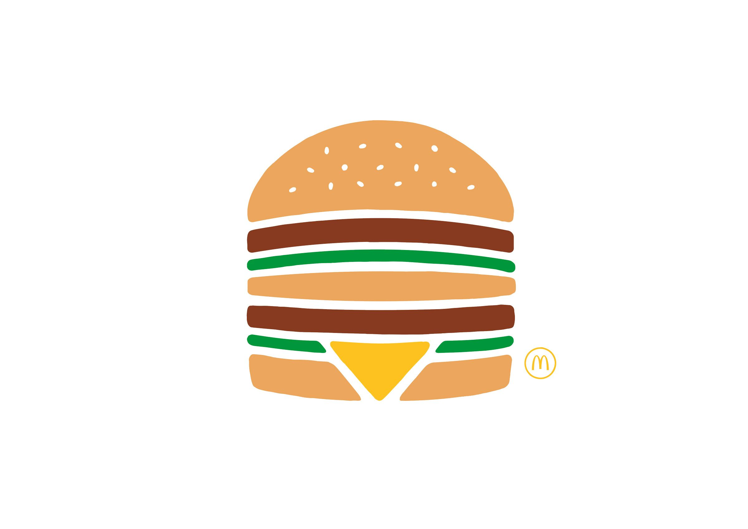 Souvent McDonald's: Big Mac. The Simplest Ads McDonald's Ever Made. | Ads  DZ91