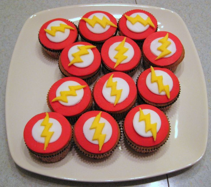 Flash Cupcakes Nathan Pinterest Birthdays Cake And Food