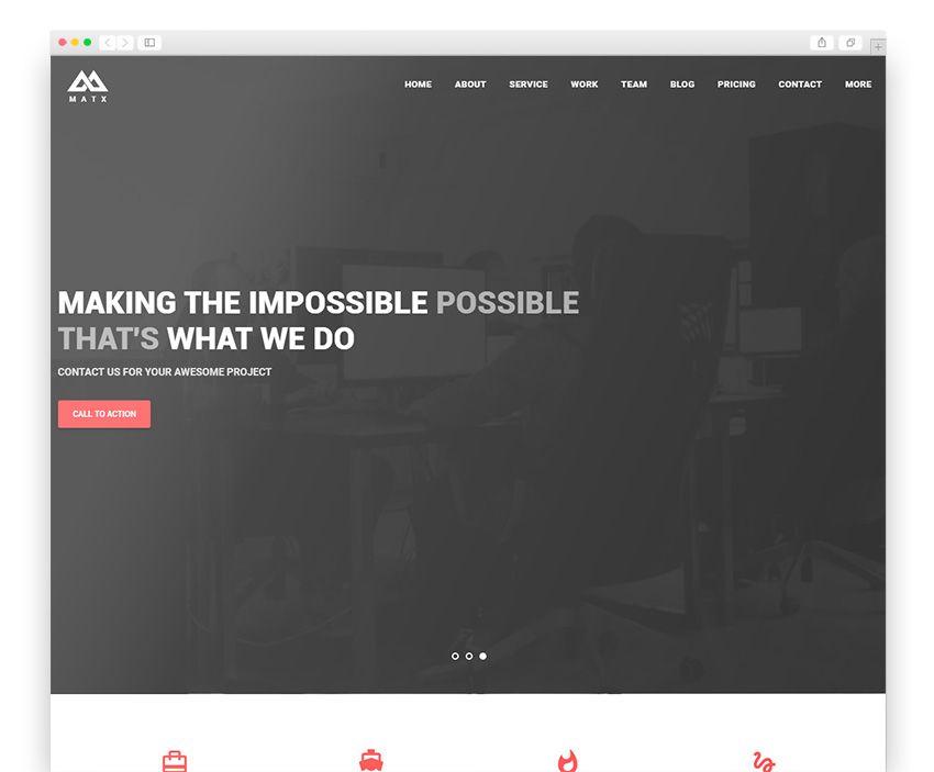 Matx Wordpress Responsive Theme | Best WordPress Themes | Pinterest ...