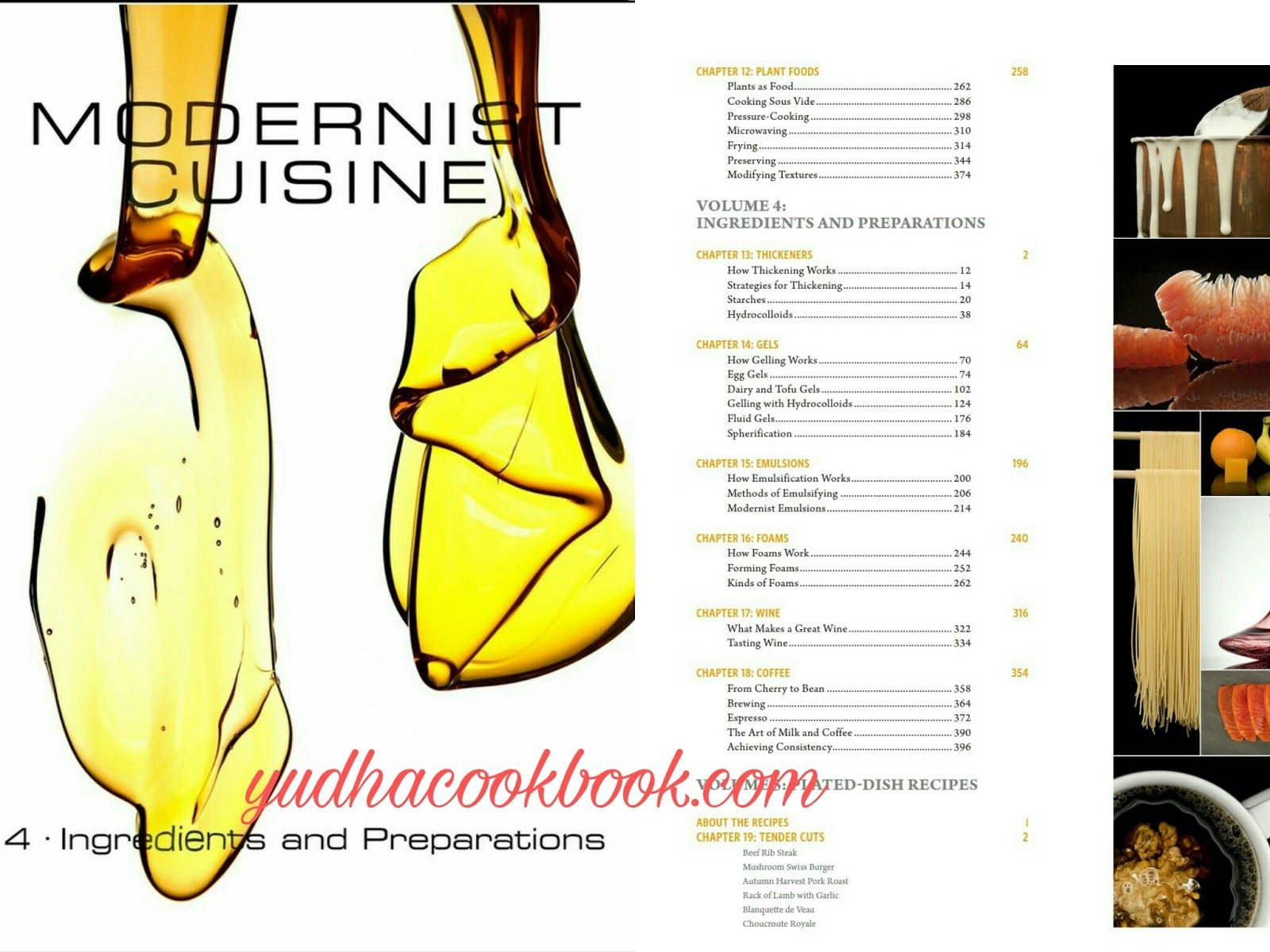 Download MODERNIST CUISINE [VOLUME 4] - INGREDIENTS AND PREPARATIONS ...