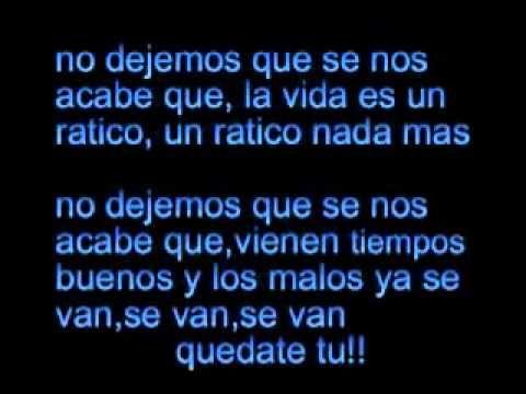 Juanes La Vida Es Un Ratico Vida