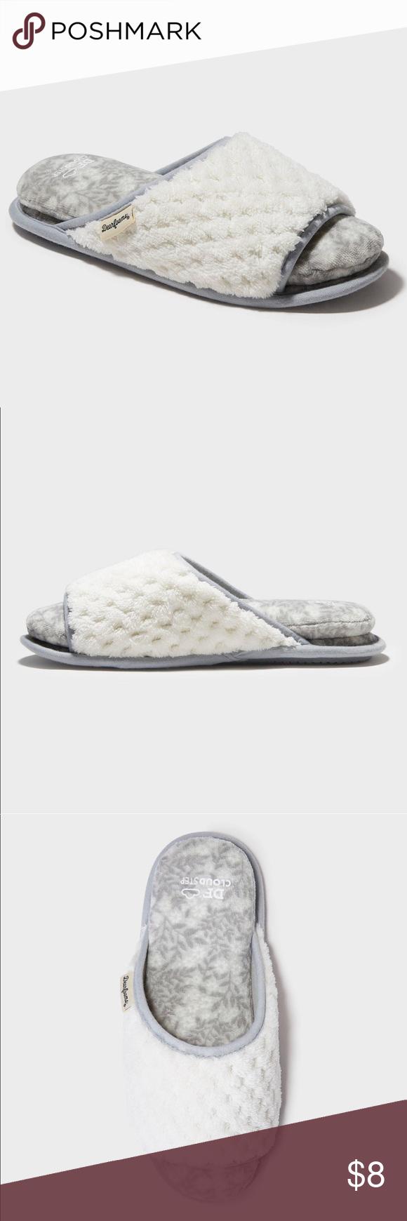 🟢 3/$12 NWT Women's Cloud Step Slippers