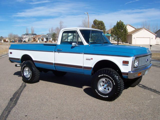1972 Chevy 3 4 Ton 4x4 Google Search Trucks Stuff