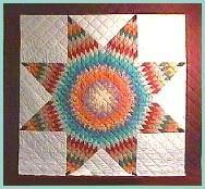 This Hidatsa-Arikara woman also makes nice Native American star ... : native american star quilt - Adamdwight.com