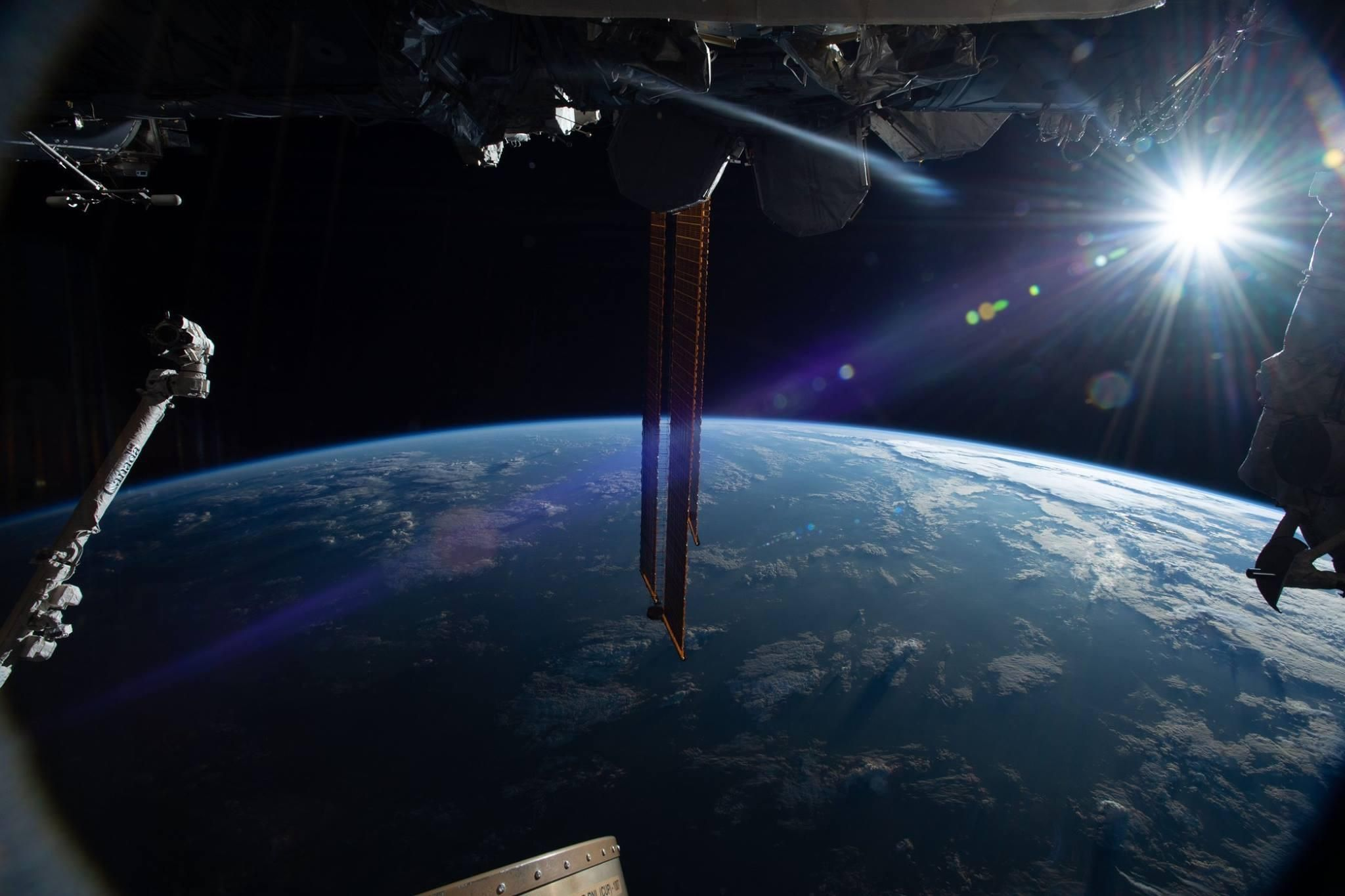 Picture taken from the International Space Station.