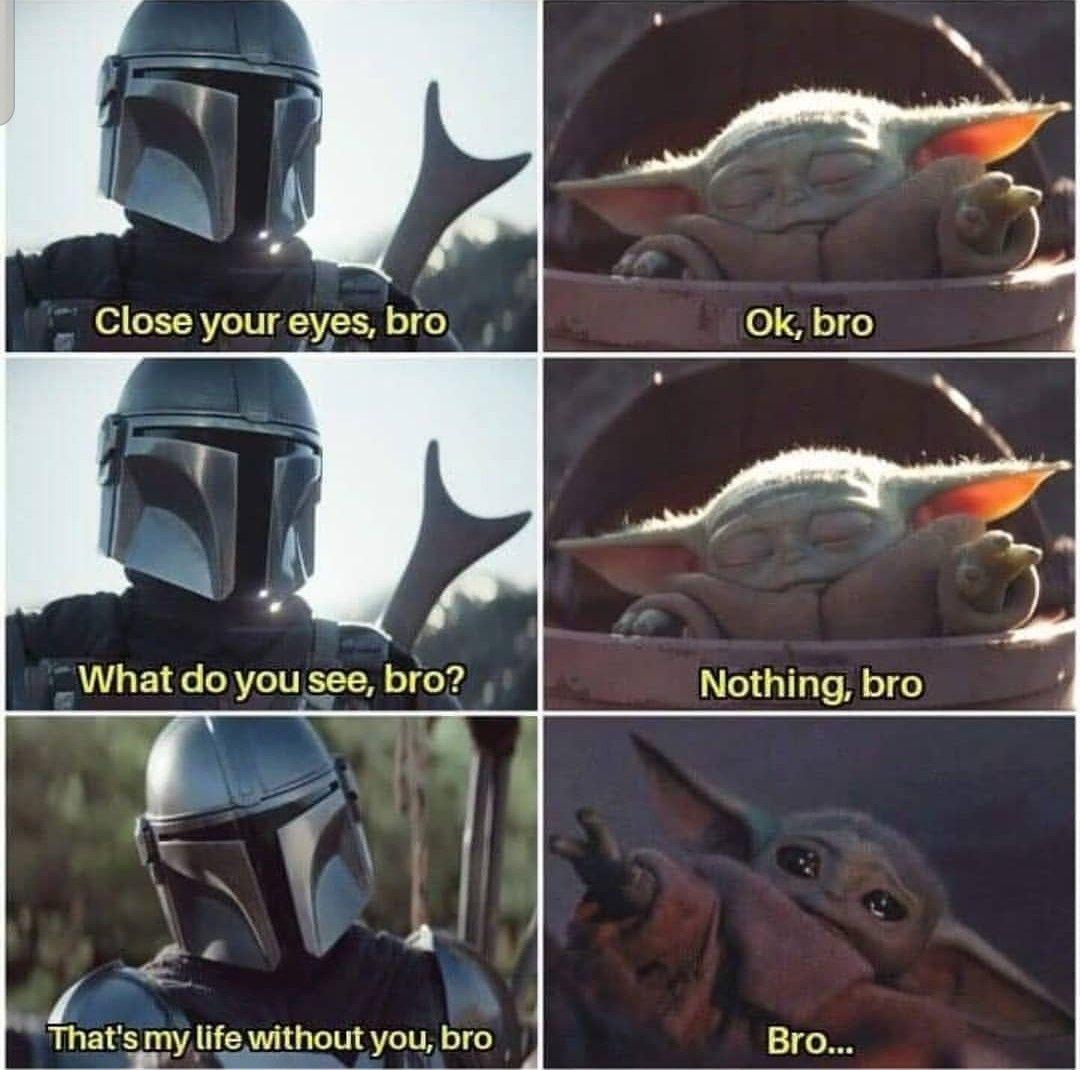 Pin By Robin Appelman On Star Wars Funny Star Wars Memes Yoda Meme Star Wars Jokes