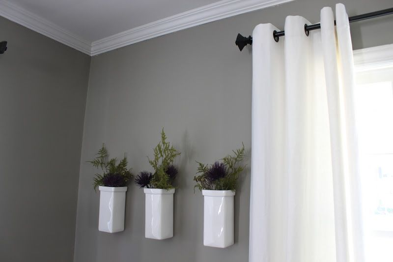 Was Thinking White Curtain Rods In Bedroom I Think I Like Black