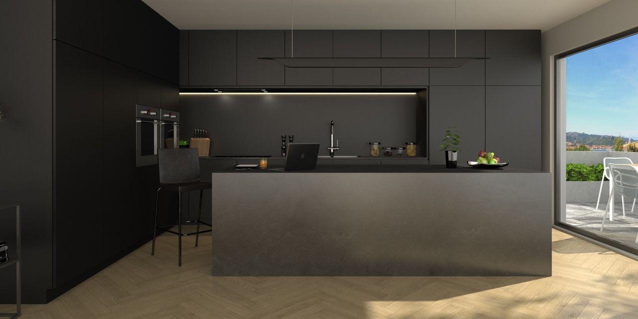 Black is the most elegant colour par excellence. An