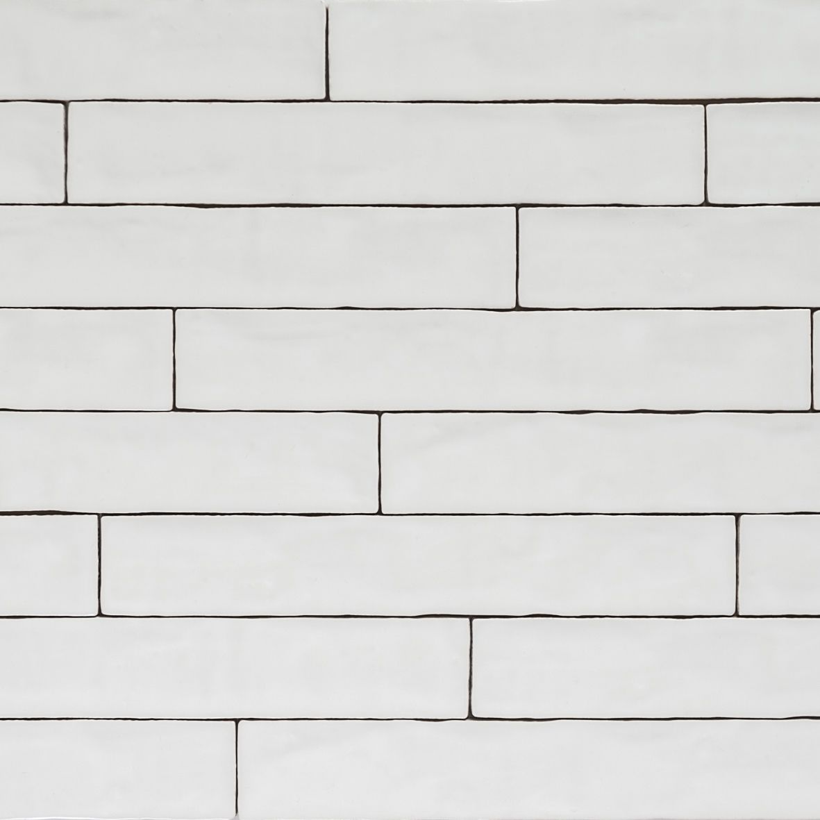 Handmade Natura Gloss White Long Subway Tiles 396×65 | Tinagroo ...