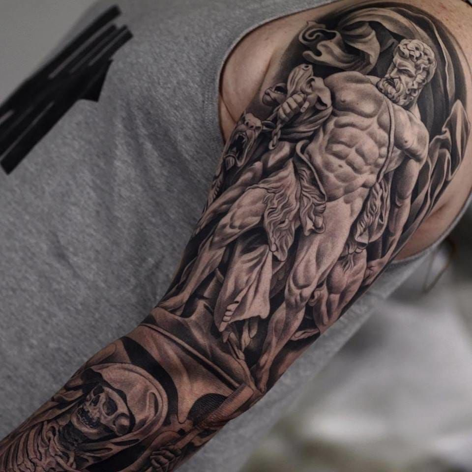 30 Best Tattoos Ever Hercules Tattoo Greek Tattoos Sleeve Tattoos