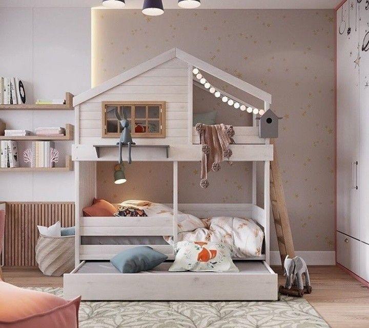 Kids Room Oformlenie Detskih Komnat Detskaya Krovat Dizajn