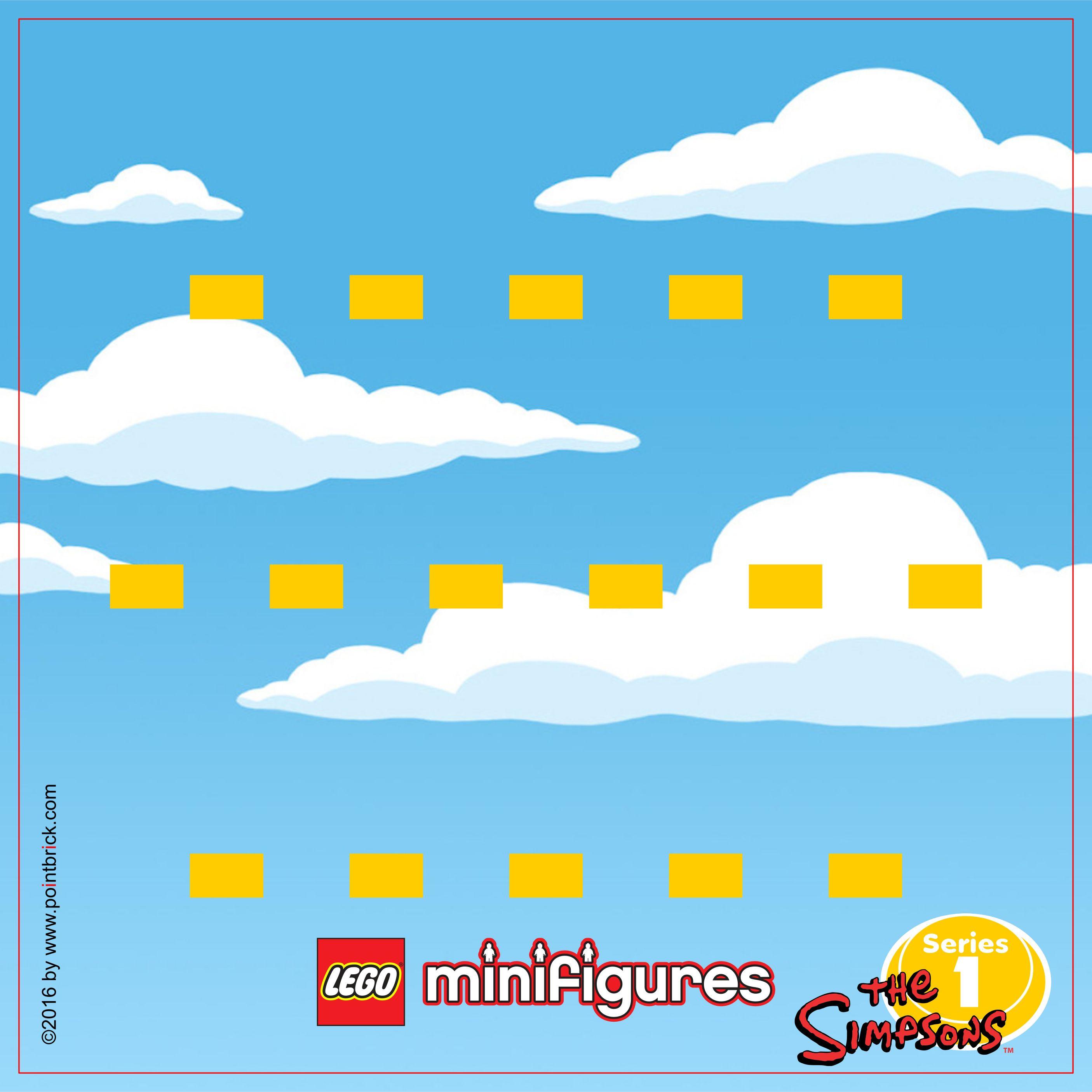 lego minifigures display frame i simpsons serie 1 bricolage et diy pinterest bricolage et diy. Black Bedroom Furniture Sets. Home Design Ideas