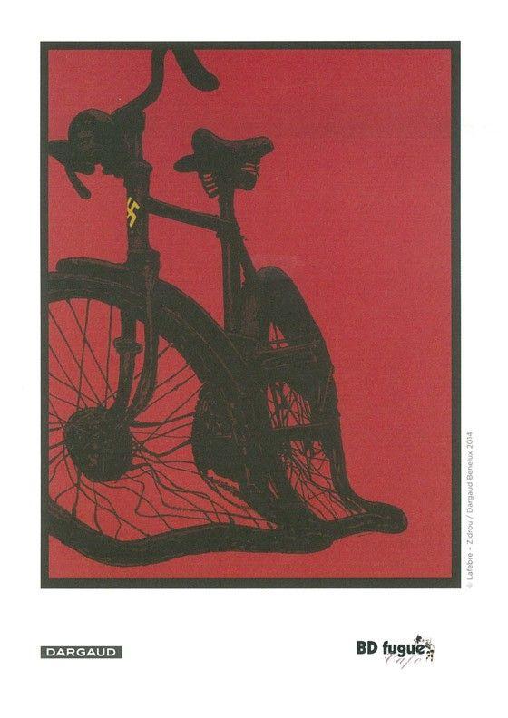 Ex-libris BD fugue pour la Mondaine 1 de Zidrou et Lafebre. #Dargaud #BD #Mondaine #Lafebre