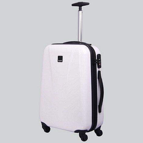31f3f0e5f Tripp Chic 4-Wheel Cabin Suitcase White Gloss   Debenhams   Travel ...