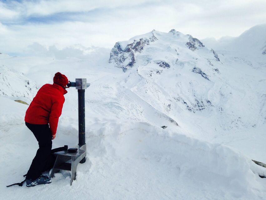 Mont rose. Zermatt, Switzerland