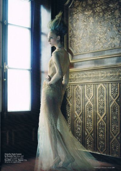 Givenchy Haute Couture photographed by Victor Demarchelier
