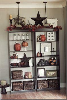 Bookshelves Decor Ideas