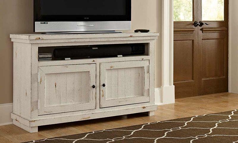 Willow Tv Stand 54 White Tv Stands Progressive Furniture