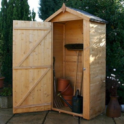 Slim Profile Shed For Side Of House Small Garden Tools Small