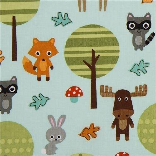 tissu tour de lit et gigoteuse animaux de la for t patterns pinterest animaux foret tissu. Black Bedroom Furniture Sets. Home Design Ideas