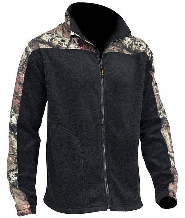 52b1680ecad9b Mossy Oak Men s Casual Fleece Jacket   Fleece Jackets   Pinterest