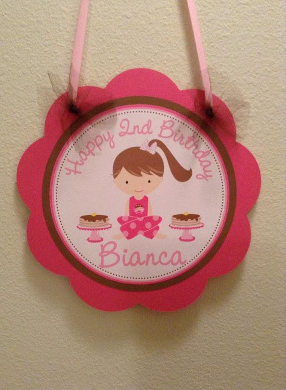 Pancakes and Pajamas Door Sign by CustomParty4U on Etsy, $10.00