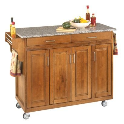 Kitchen Cart With Salt And Pepper Granite Top Cottage Oak Kitchen Island With Granite Top Portable Kitchen Island Oak Kitchen
