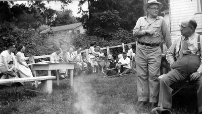 Comptroller's Office picnic, 1954   American war ...