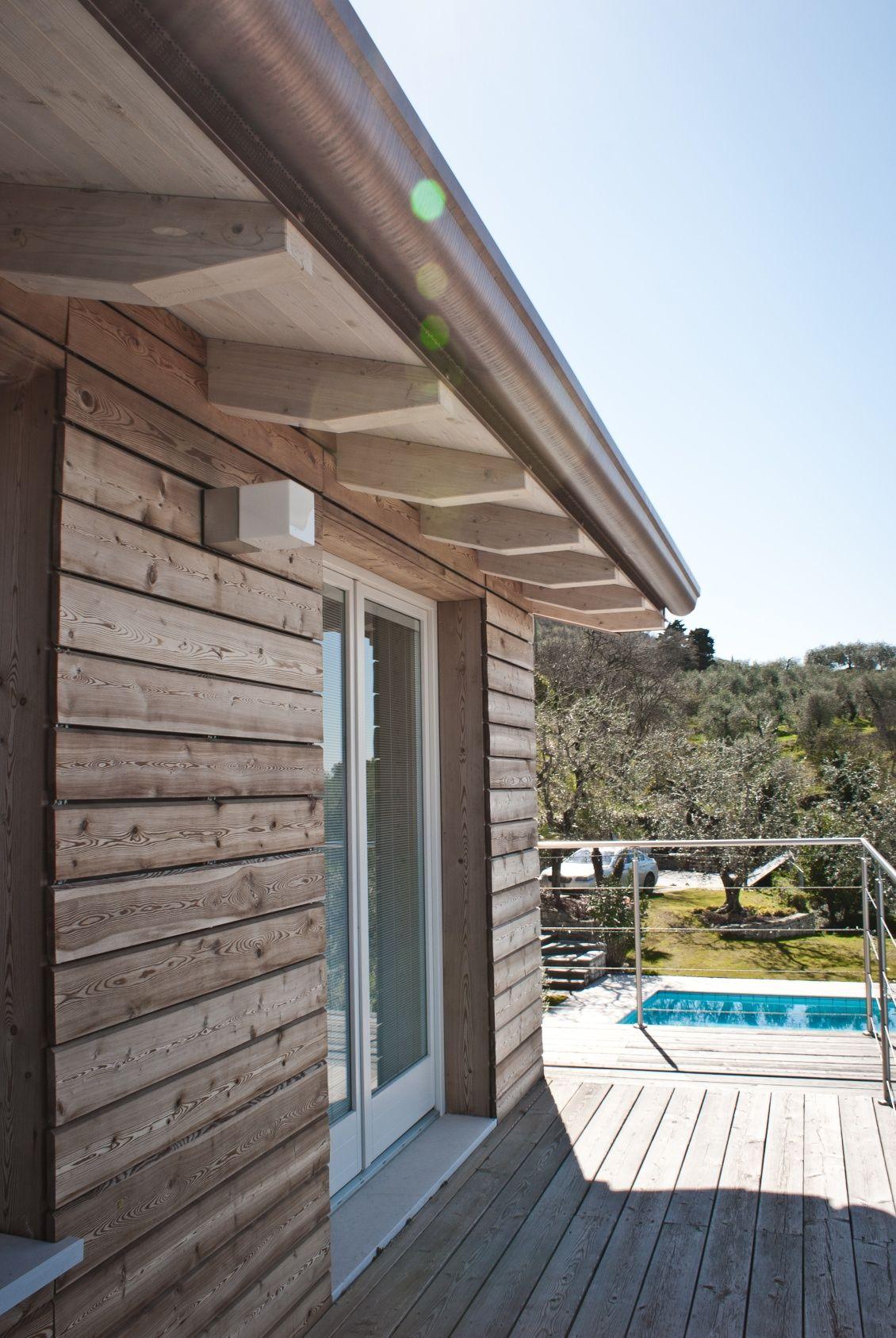 Rivestimento Casa In Legno casa prefabbricata in legno - progetto di ampliamento (con