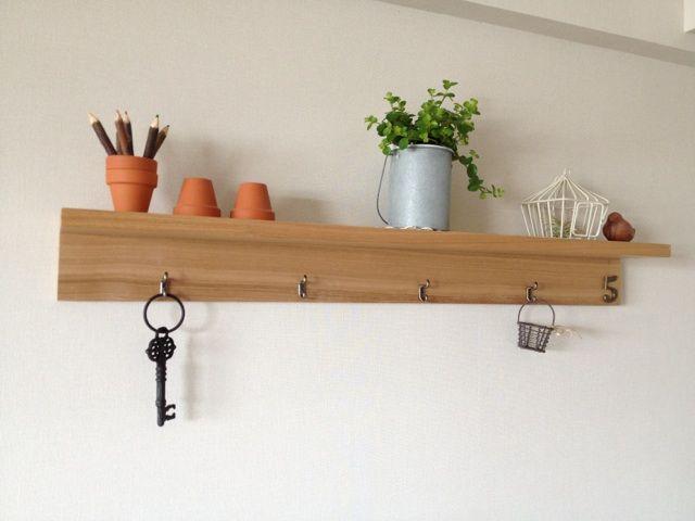 無印の壁に付けられる棚をアレンジ - 風のとおりみち