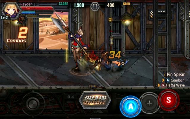 Traincrasher Is A Free Android Action Anime Beat Em Up Game With