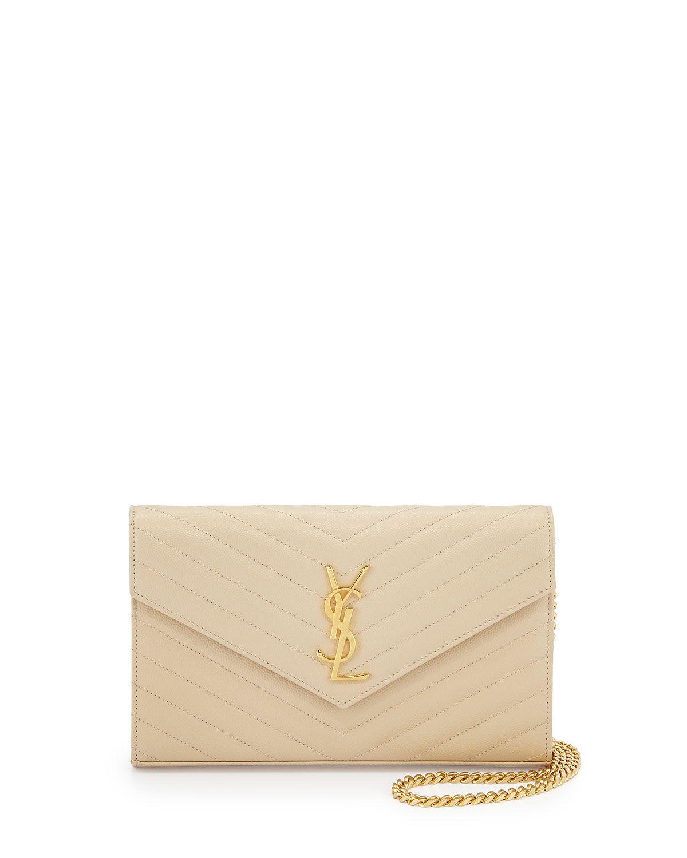 4359b66b872 Monogram Matelassé Wallet on Chain Nude in 2019 | *Handbags, Wallets ...