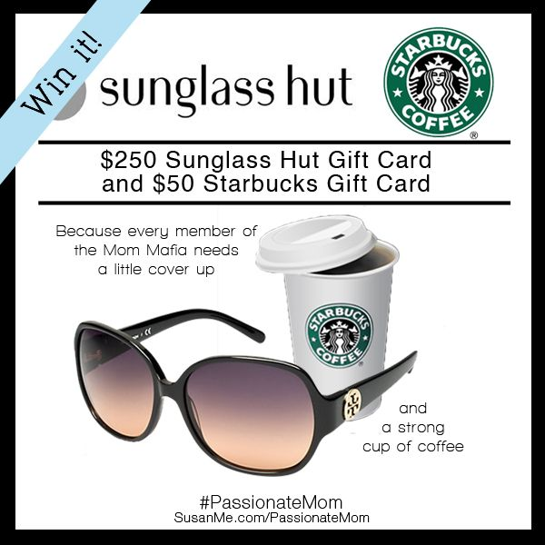 The Passionate Mom Giveaway Enter To Win A 250 Sunglass Hut And A