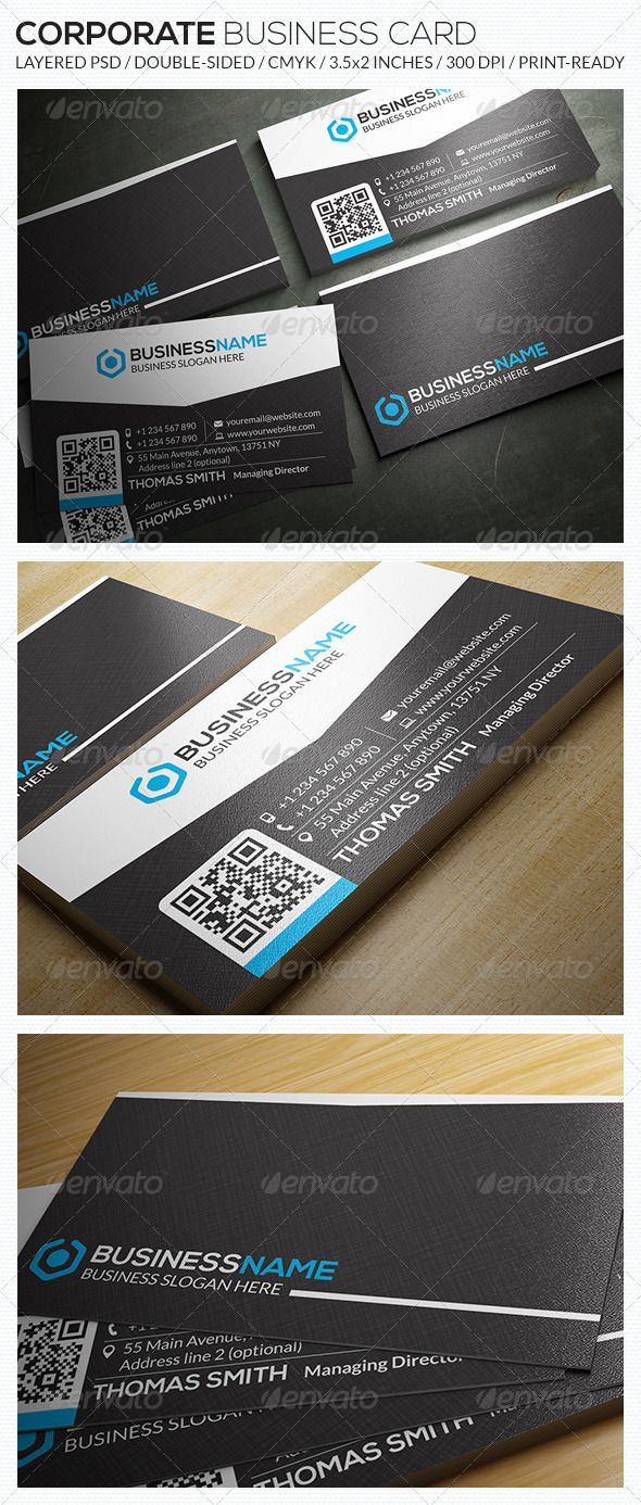 Corporate business card ra26 corporate business business cards corporate business card ra26 cheaphphosting Images