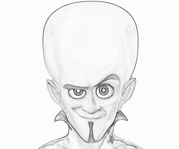 Megamind Coloring Pages | Coloring Pages | Pinterest | Dreamworks