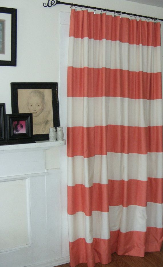 Curtain Panels Handsewn Alternating By Vylettclairecurtains