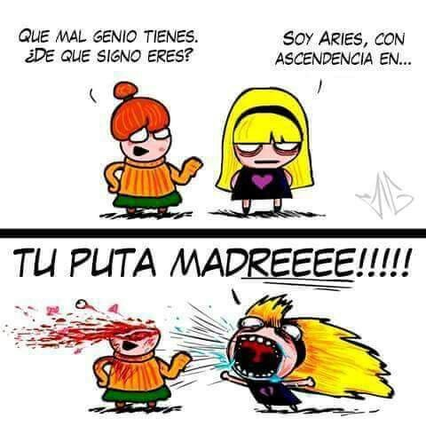 Mujer Aries...